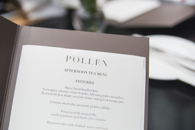 Pollen afternoon tea Gardens By The Bay