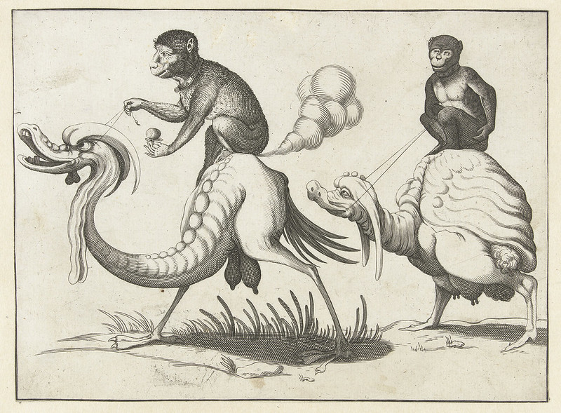 Arent van Bolten - Grotesque Creatures 15, 1604-1616