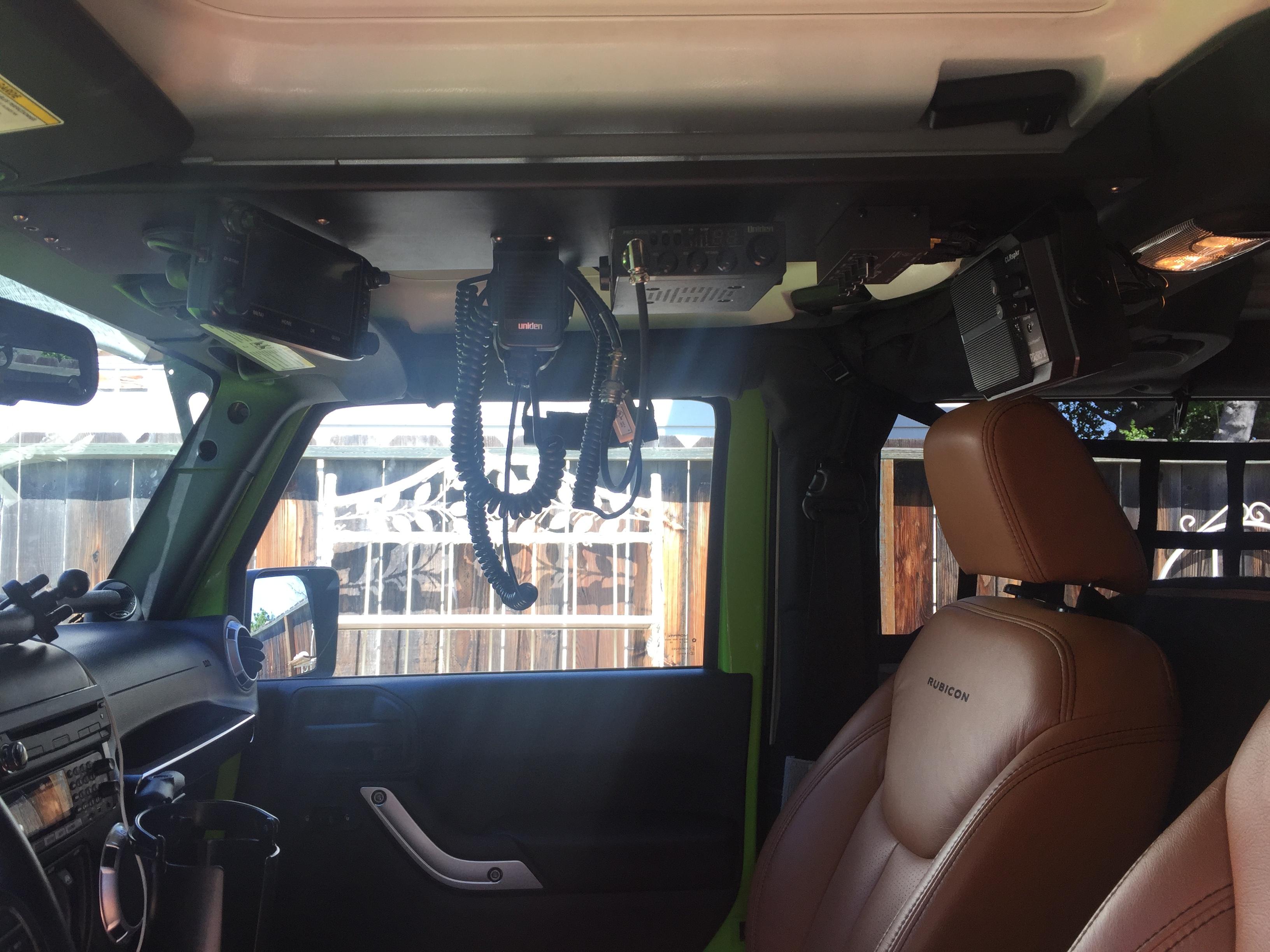 Ham radio folks: bonding a HF setup in a JK - Jeep Wrangler