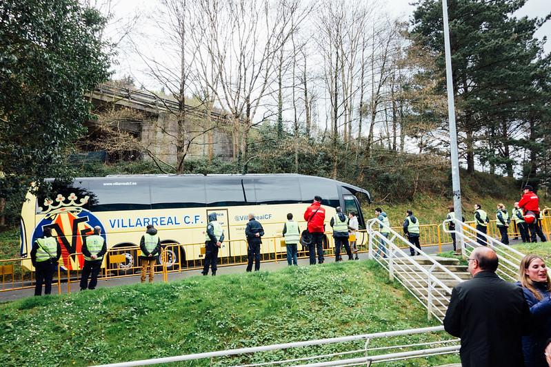 ビジャレアルのバス