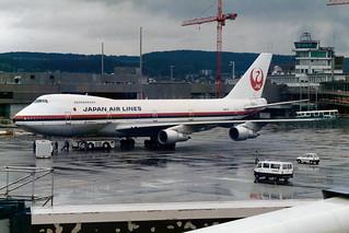 Japan Air Lines - JAL Boeing 747-246B JA8131