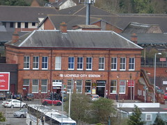 Spire Climb - St Mary's in the Market Square, Lichfield - Lichfield City Station