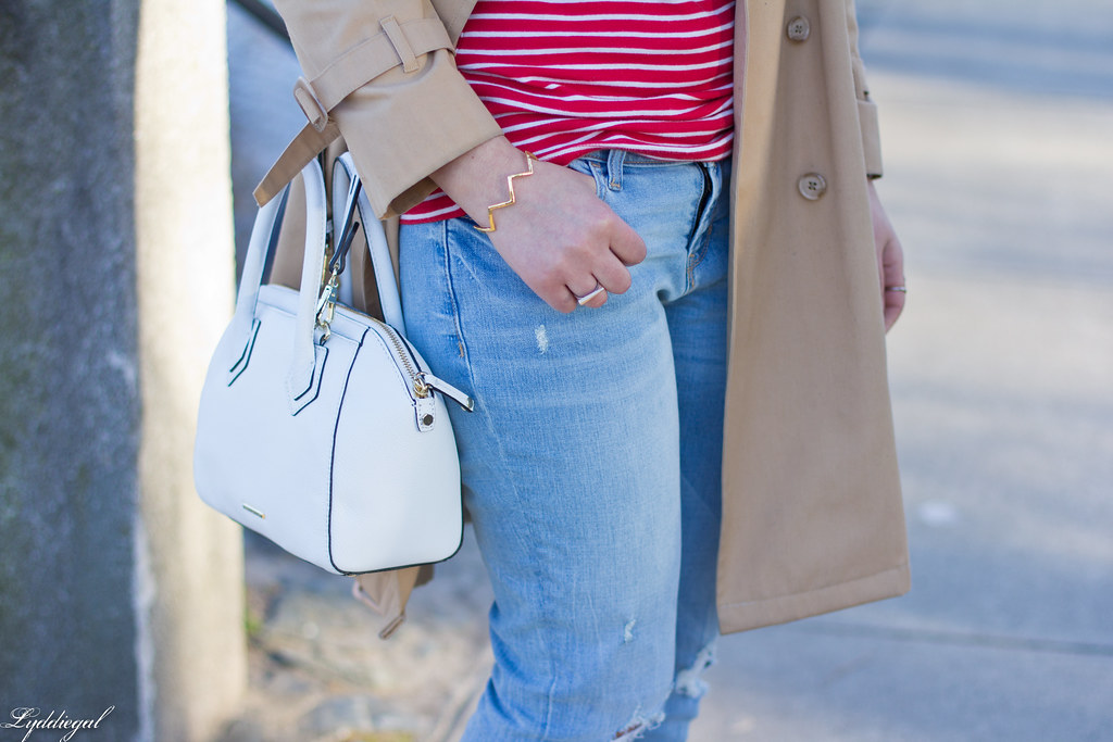 red striped tee, trench coat, boyfriend jeans, red pumps-8.jpg