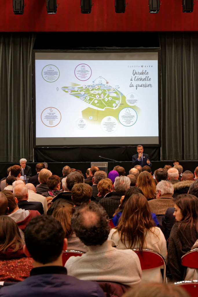 EuropaCity - Réunion publique d'ouverture - 17 mars 2016 - Gonesse - Salle Jacques Brel