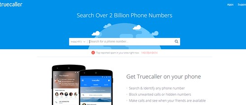 Truecaller trace mobile number