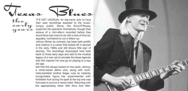 Johnny Winter's Texas Blues