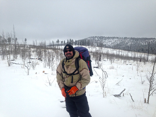 Scott Daubert Hiking in Pike National Forest - s