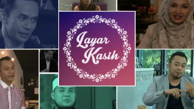 poster program Layar kasih