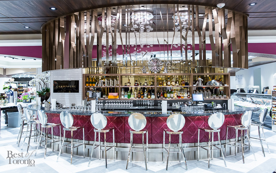 Pusateri's Champagne Bar at Saks Sherway Gardens