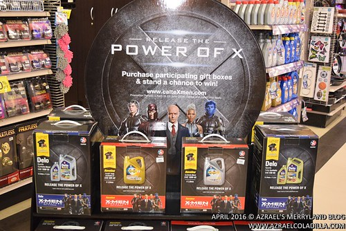 The Power of X-men with Caltex and Handyman