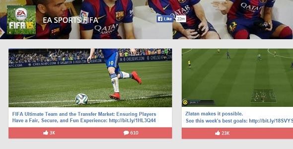Famax v5.3 - Facebook Fan Page on your Website