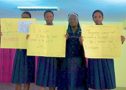 St Louis Secondary School, Abuja, recently organised a seminar on Human Trafficking