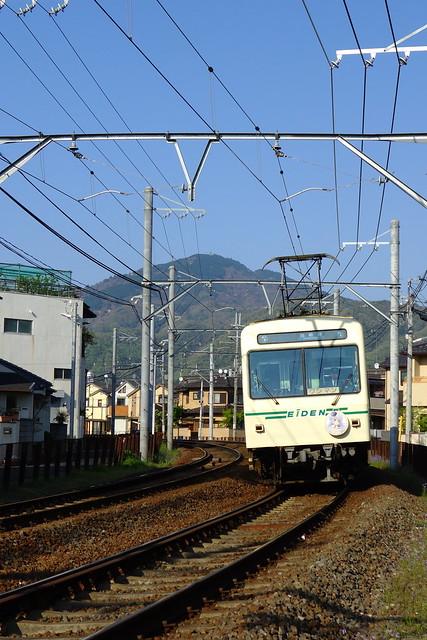 2016/04 叡山電車×ご注文はうさぎですか?? ヘッドマーク車両 #68