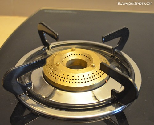 Preethi Glass top Gas Stove 3 Burner -  Preethi BluFlame Blaze