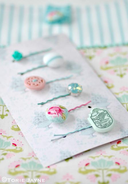 handmade bobby pins