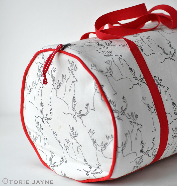 JJ's handmade duffell bag