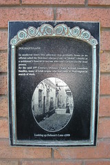 Photo of Dolman's Lane black plaque