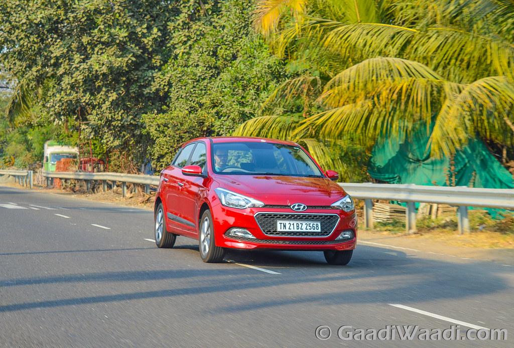 Hyundai Elite i20 AVN Test drive review-43