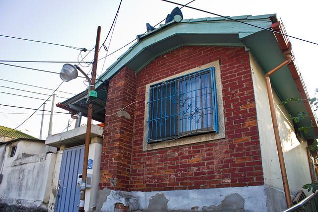 Colonial brick house, Gunsan, South Korea
