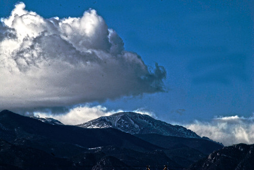 Americas Mountain Pikes Peak - s