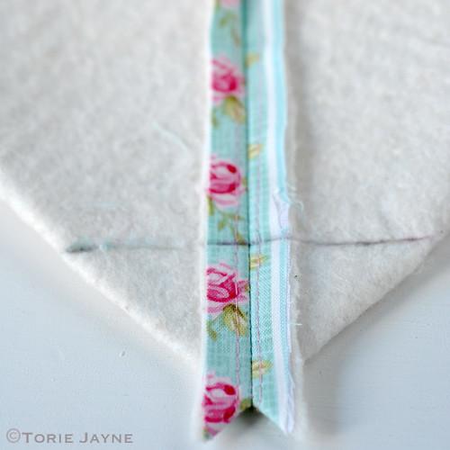 Pretty tote sewing tutorial 11