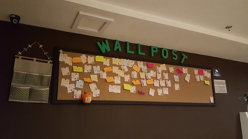 Wall post notes and messages | Koffie Pauze Opens Its New Home at 100 Roxas Dormitory - Davao Food Trips .com