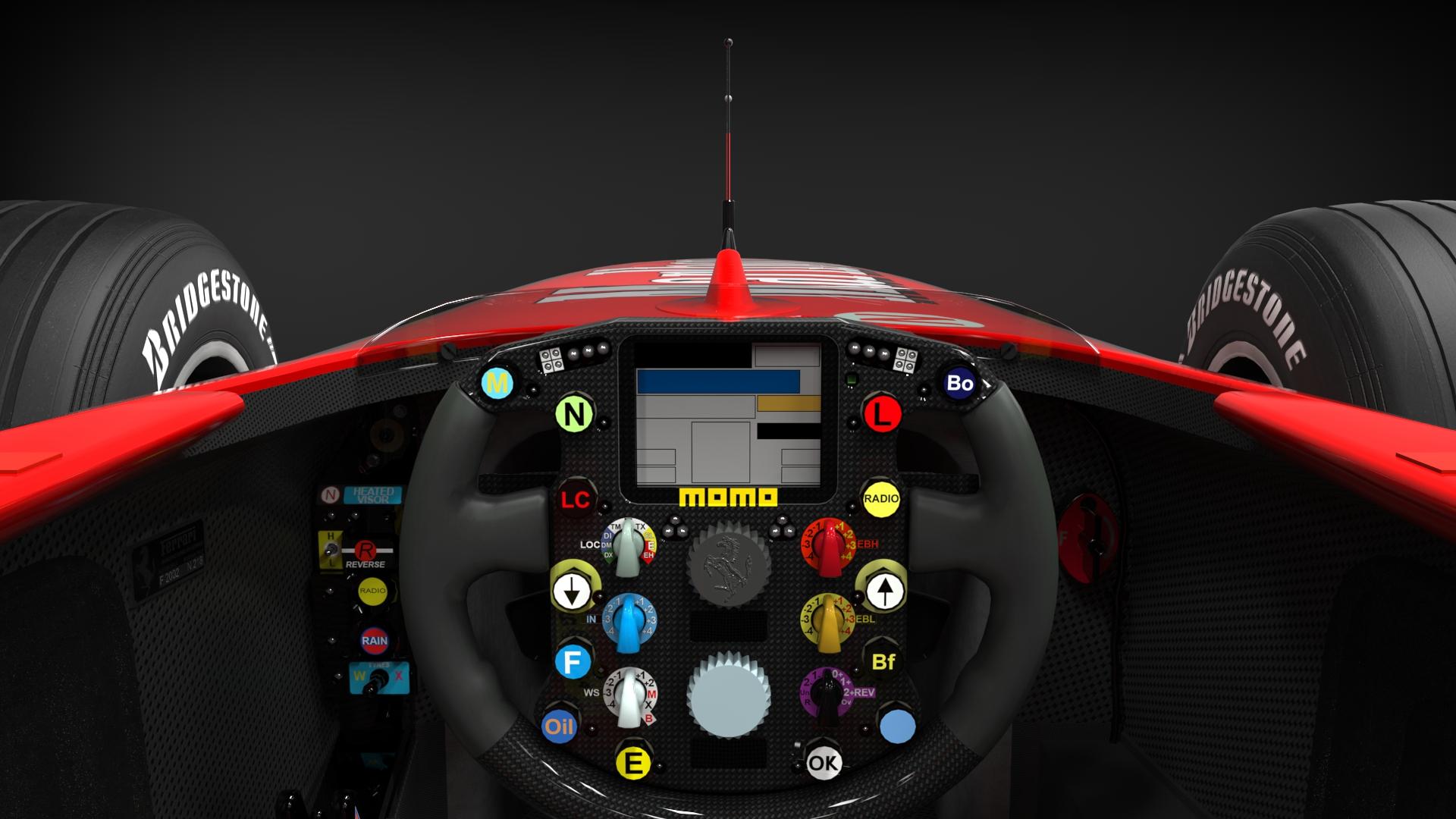Релиз мода Ferrari F2002 V1.0 на AC