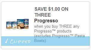 Progresso Soup at Walgreens