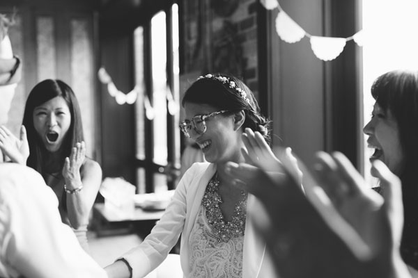 Celine Kim Photography KM Intimate restaurant Cluny Bistro Distillery District Toronto summer wedding-51