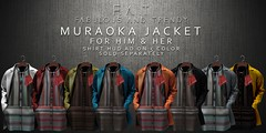 F.A.T Muraoka Jacket For Him & Her Colors