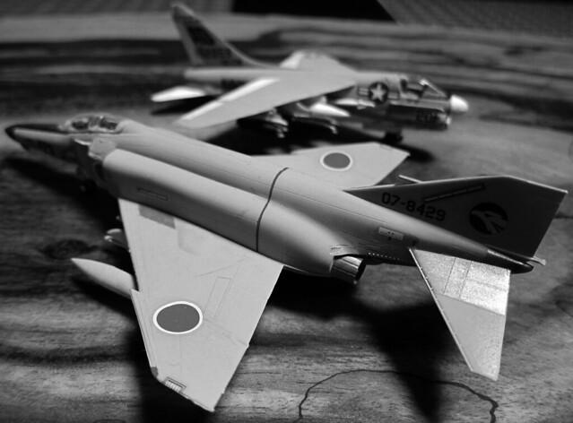 【 F-4EJ ファントム II & LTV A-7A コルセア II 】
