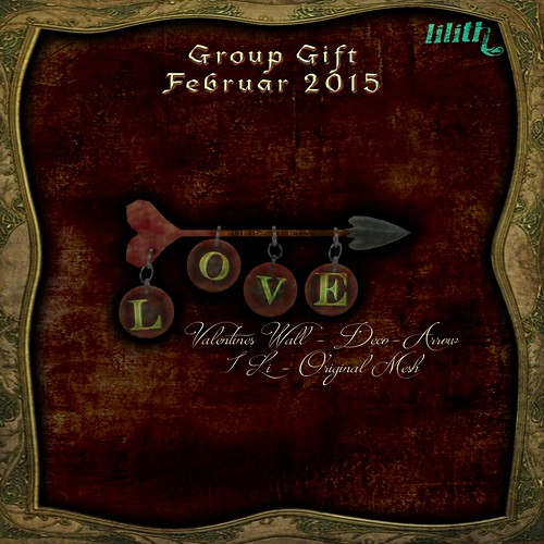 Lilith's Den group gift February 2016 - Valentines
