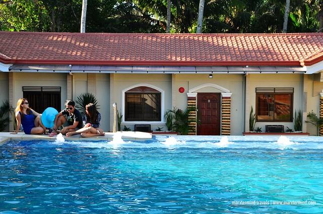 My Friends Enjoying the Pool at Rema Tourist Inn