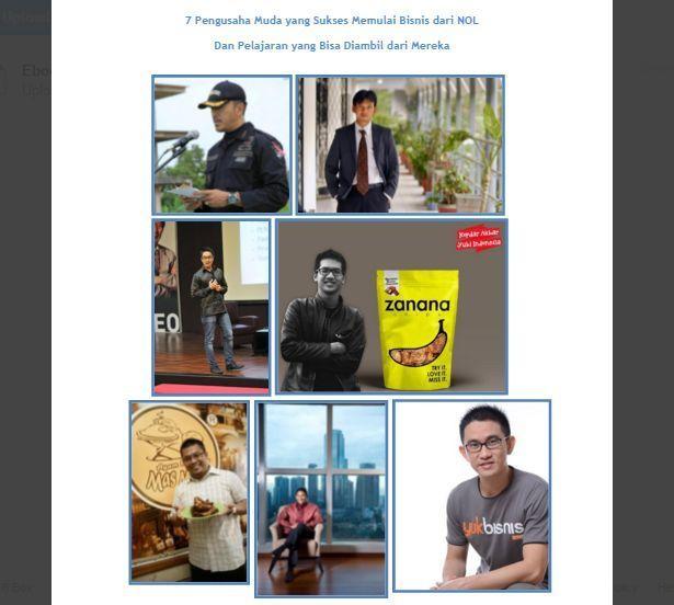 7 pengusaha muda yang sukses memulai usaha dari nol