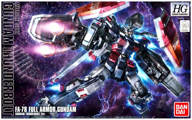 HG Full Armor Gundam [Gundam Thunderbolt] (Animation) - Box Art