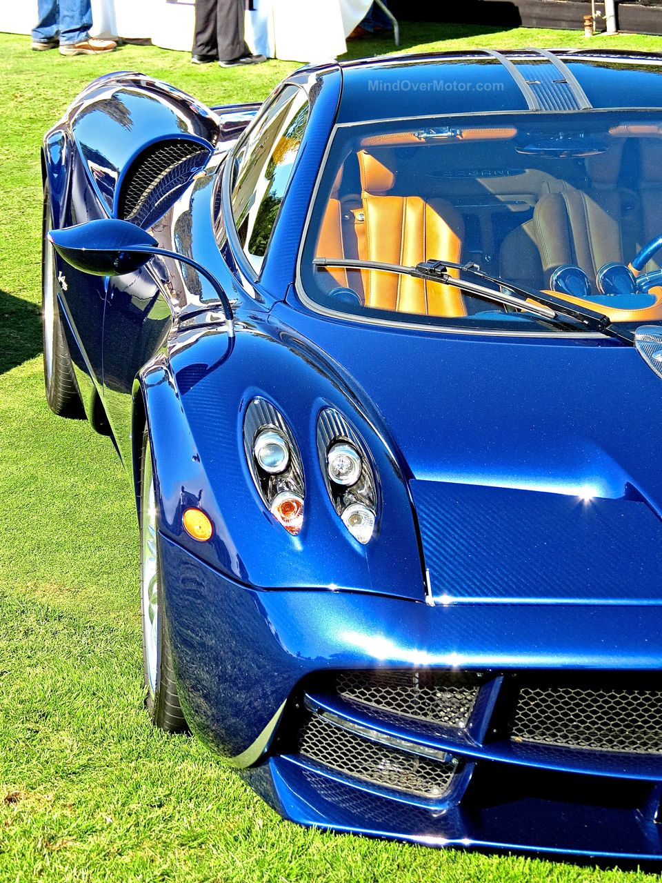 Pagani Huayra Blue Carbon The Quail 4