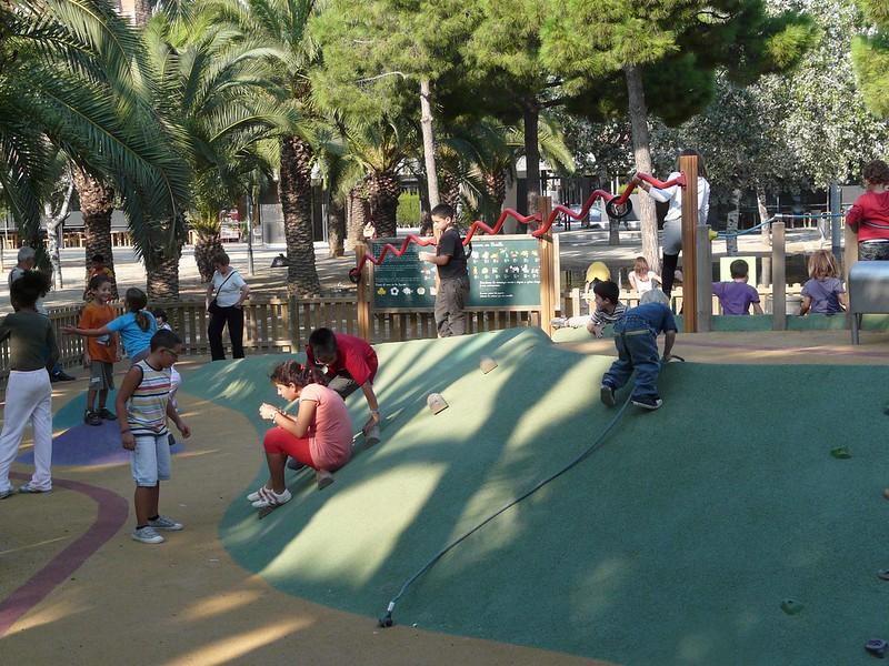 Parc de Joan Miró ou l'Escorxador