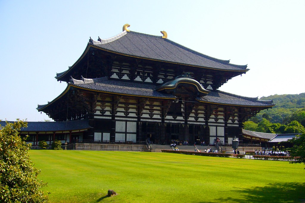 Todai-ji, Daibutsuden (Graet Buddha Hall) -1 (May 2009)