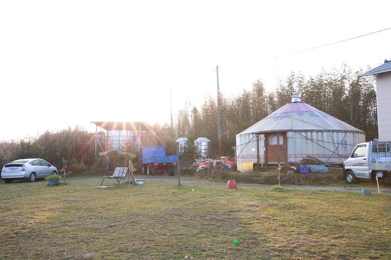 清晨的營區