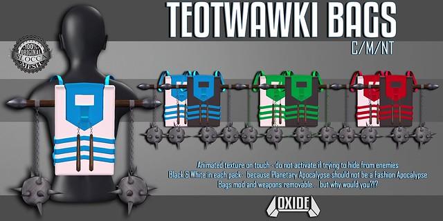 OXIDE TEOTWAWKI Bag