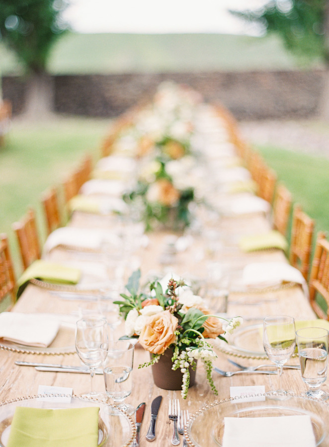 Wedding Tablescape | Rustic Ranch Wedding