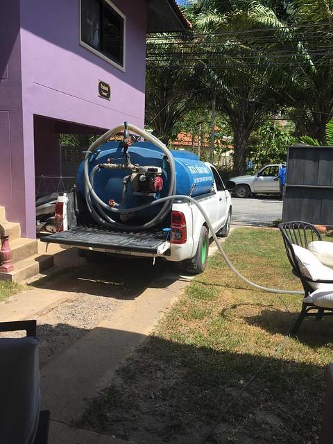 Thai water truck