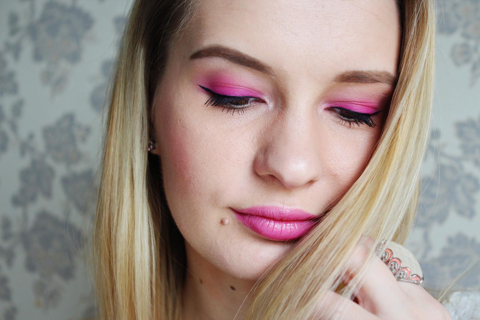 Pink makeup inspiration