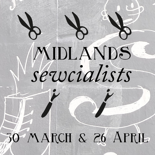 Midlands Sewcialists Logo March April