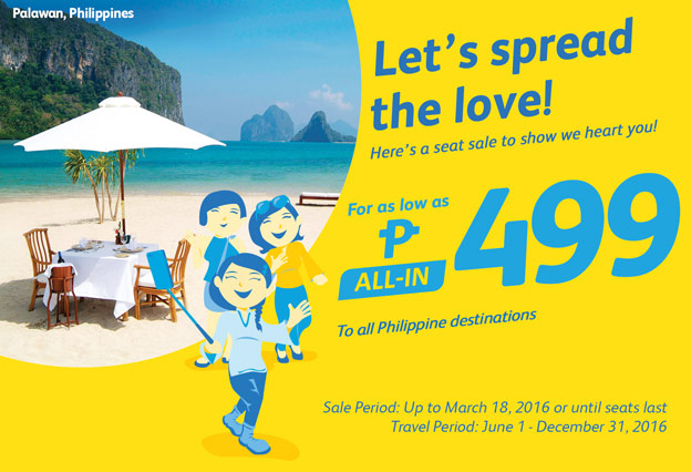 Cebu Pacific Promo March 15 2016