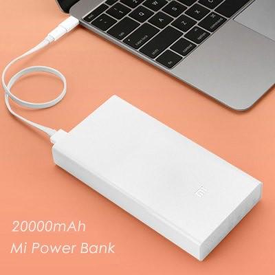 Xiaomi Mi 20000mAh Banco de energía móvil rápido cargador original