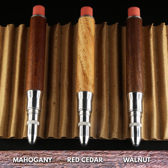 @Kickstarter The Timber Twist Bullet Pencil @MetalShop5  (3)