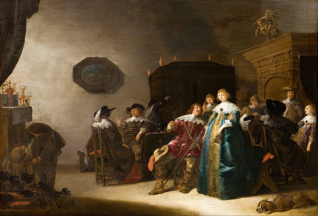 A Merry Company by Anthonie Palamedesz, 1633