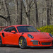 Seth Thomas' Porsche 991 GT3 RS on Forgeline One Piece Forged Monoblock GE1 Wheels by Forgeline Motorsports