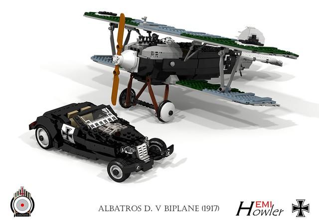Custom HEMI Howler and Albatros D.V (1917 - Herman Goering)